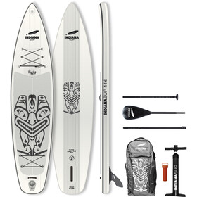 Indiana SUP 11'6 Touring Pack Basic Inflatable SUP with 3-Pieces Fibre/Composite Paddle